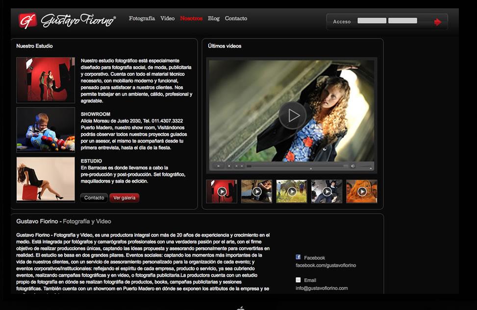 Dise o web profesional agencia estudio de dise o gr fico for Paginas de chimentos argentina