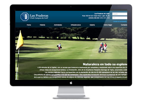 Las Praderas Website